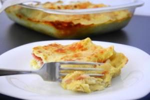 A recipe from Italian cuisine