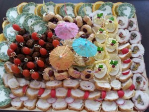 Platou aperitive diverse