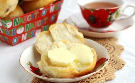 A recipe of Grandma's homemade butter