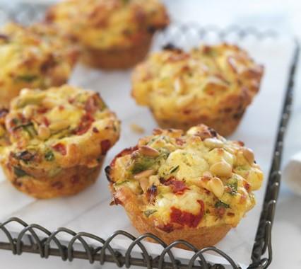Mini Ricotta and Potato Frittatas
