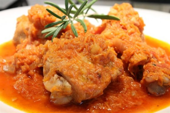 Chicken with carrot