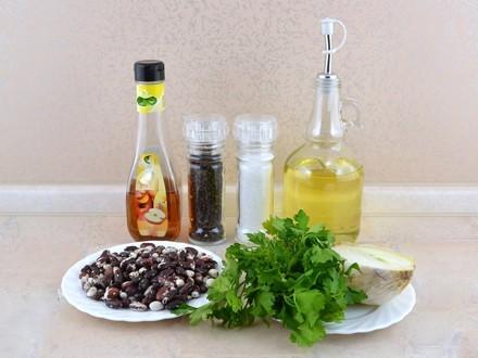 Bean Salad with onion
