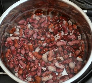 Bean Salad with onion