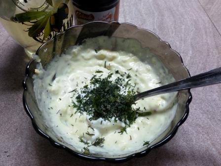 Raw garlic sauce